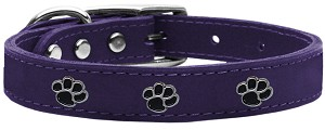 Paw Leather Purple 24